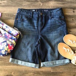 🍄 Simply Vera Vera Wang Bermuda Shorts